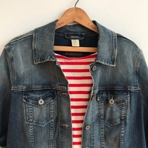 EUC Levi Strauss Denim Jacket Blue Jean Casual XL